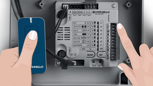 Comunello 24V and 230V Control Units